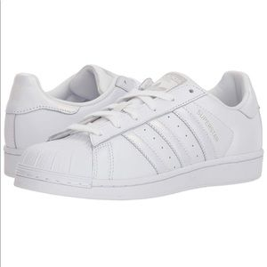 White Pearl Adidas Superstar